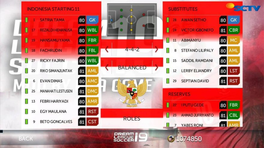 abreviasi dari Dream League Soccer yakni aplikasi game  DLS 19 MOD Timnas Indonesia Unlimited Coins Apk Data Graphic HD