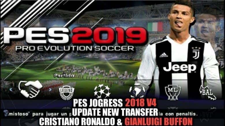 Gan kali ini admin berkesempatan membagikan update game PPSSPP kepada kalian Download PES Jogress V4 2019 ISO PPSSPP Full Transfer Terbaru