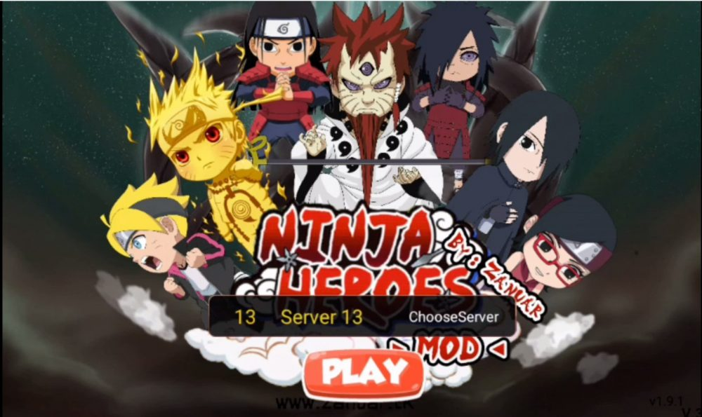download ninja heroes terbaru 2019 mod apk