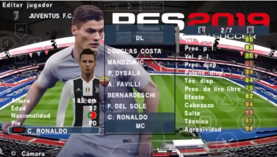 ⚡ Download game pes 2019 lite ppsspp | PES 2019 ISO PPSSPP File