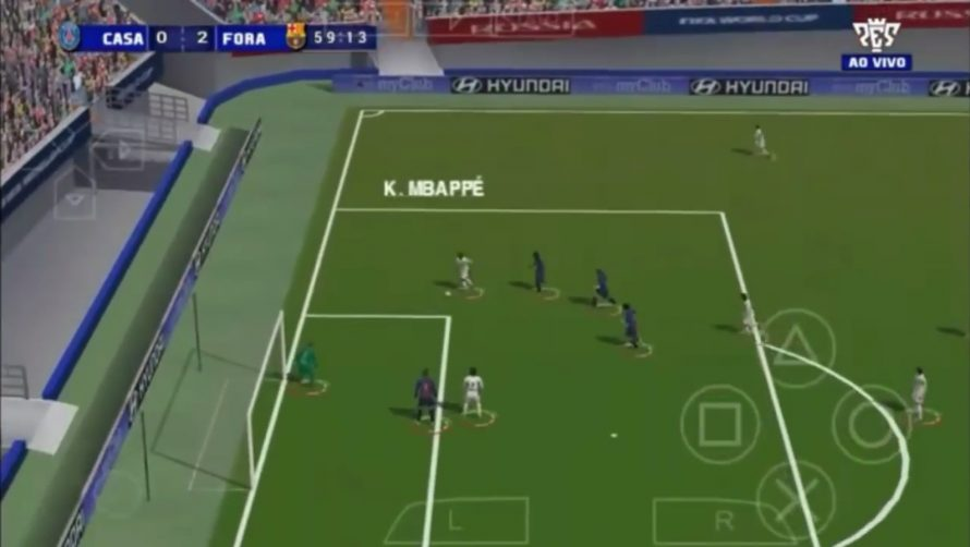Pes 2019 For Android Ps4 Camera Offline 500 Mb Full Hd Terbaru
