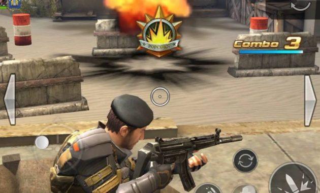 teman yang suka bermain game android gratis tembak menembak Cover Fire Free Shooting Games MOD APK v1.10.0 [UPDATE 2019]