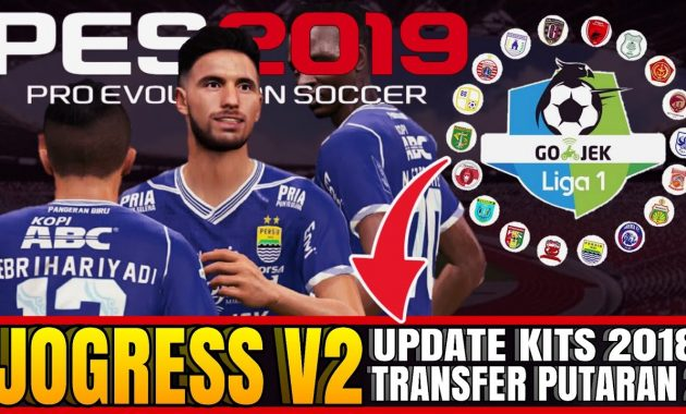 Semoga selalu sehat dan berbahagia melewati setiap proses PES Jogress V2 Mod PES 2019 Liga 1 Gojek Indonesia Bersama Bukalapak