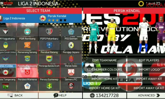 Jumpa lagi dengan admin yang siap membuatkan warta menarik dari dunia sepak bola FTS MOD PES 2019 Edition Timnas ,Liga 1 2  3 Indonesia AFC Asia