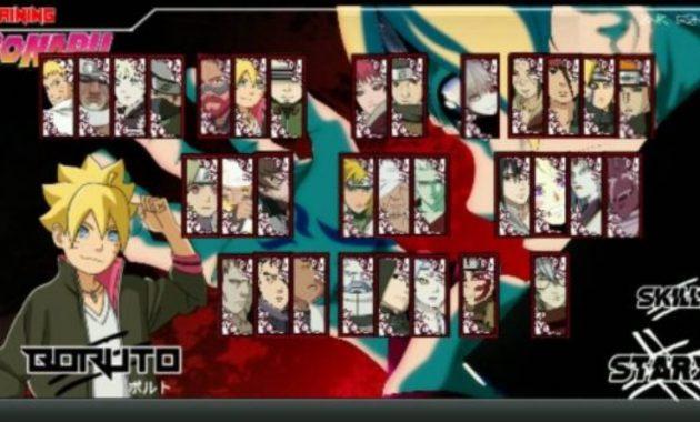 naruto senki ultimate ninja storm 4 road to boruto apk download