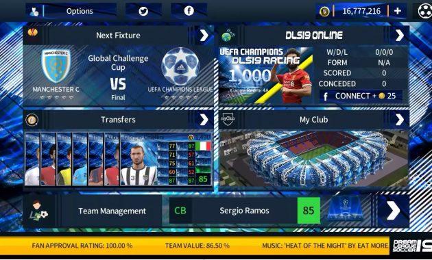 sanggup menyapa kalian kembali dengan aneka macam info yang tentu sudah kalian tunggu Download DLS 2019 MOD Liga Champions UEFA Apk+Obb Data Offline