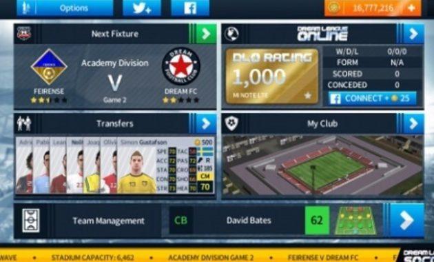 Sudah siap menyambut trend gres dengan kualitasnya yang semakin seru Download Dream League Soccer 2019 MOD APK [Unlimited Money Terbaru