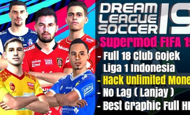 Dream League Soccer atau DLS yaitu game sepak bola dengan ukuran ringan yang tidak menamb Download Dream League Soccer 2019 Apk Mod Liga 1 indonesia