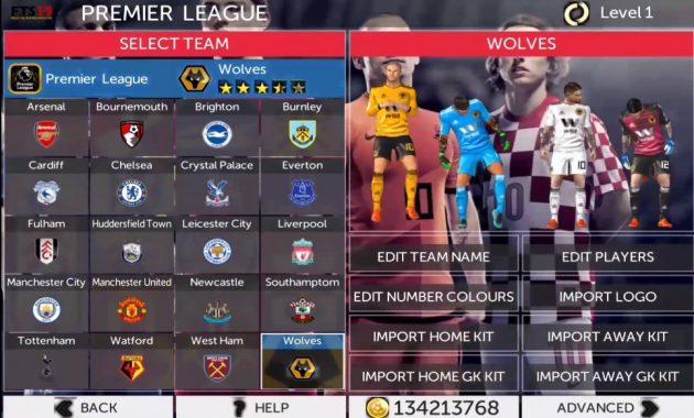 First Touch Soccer atau yang biasa dikenal dengan abreviasi FTS ialah series game sepak b Download FTS 19 Mod FIFA 19 Apk Data OBB Full Transfer Gratis