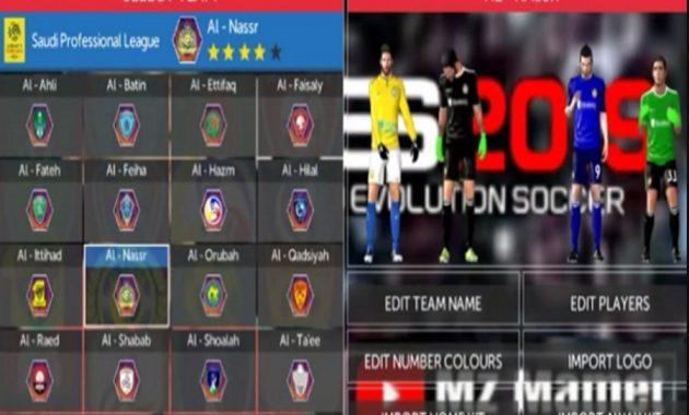 Berbagi kebaikan itu kewajiban semua orang Download FTS 19 Mod Full Liga Asia Full Transfer 18/19 Best Grafik