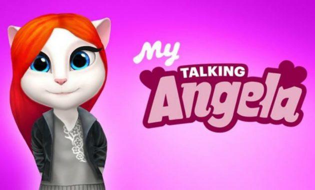ini sangat menarik dan tentu sangat menyenangkan Download My Talking Angela Mod Apk 4.0.0.232 (Unlimited Money) Terbaru Gratis