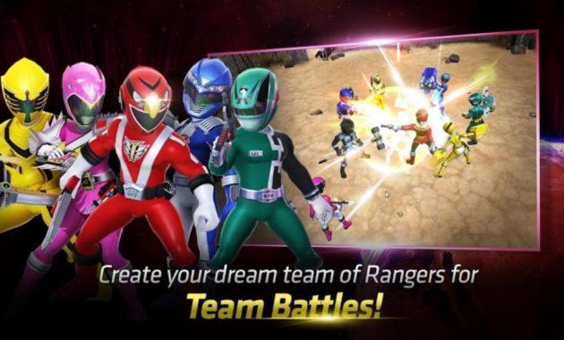 Power Ranger yakni salah satu serial yang selalu dinantikan setiap selesai pekan Power Rangers: All Stars (MOD Menu/God Mode) Versi Terbaru