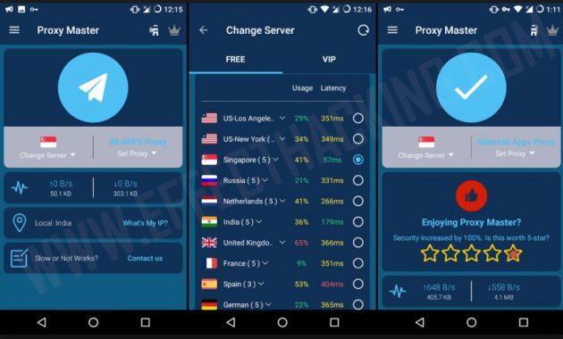 masih bersama dengan menu gosip terbaru seputar dunia game dan aplikasi Download VPN Proxy Master VIP v1.8.9 Pro Apk Terbaru 2019