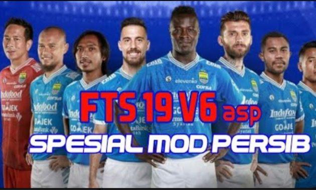 Sekali lagi admin akan membagikan informasi dan tautan game yang telah diperbarui dengan v Download FTS 19 V6asp Apk Mod Special Persib Bandung by Asep Ifan