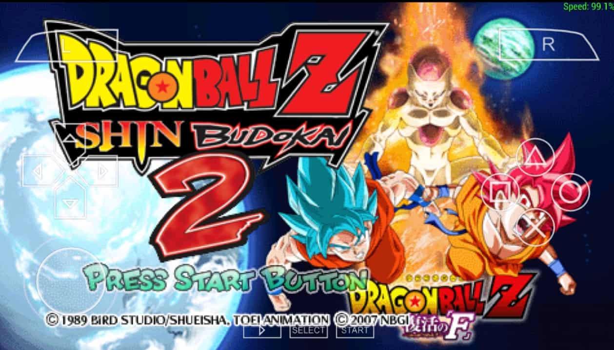 Download Dragonball Z : Shin Budokai 2 [Mod SSB] PPSSPP Di