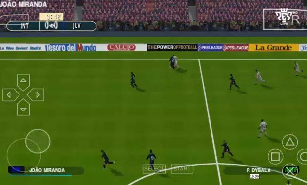 Masih belum bosan dengan game sepak bola Download PES 2019 ISO PPSSPP English Version V7 Update Transfer Pemain