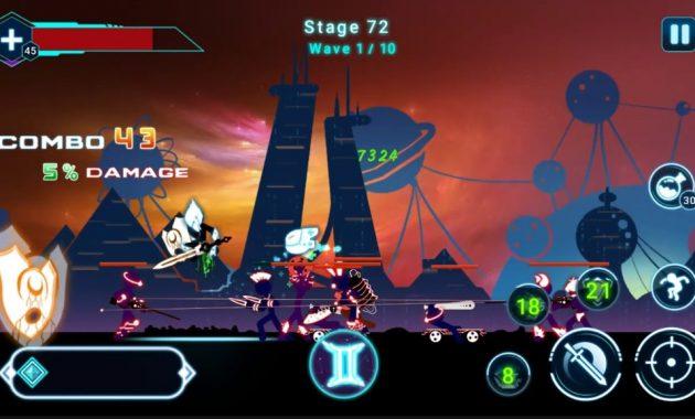 Mainkan Sini yaitu salah satu permainan terseru Download Stickman Ghost 2: Star Wars 6.4 Apk Mod for Android