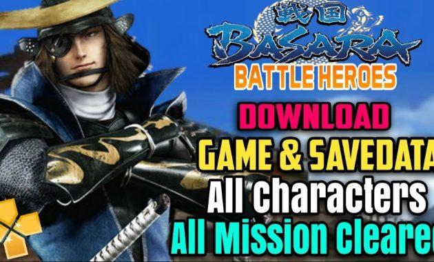 terlebih dahulu bila kalian belum mempunyai Download Game Sengoku Basara : Battle Heroes ISO PPSSPP Di Android