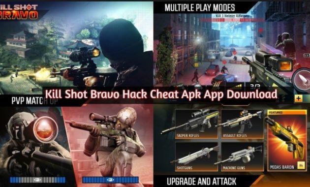 person shooter yang bisa dimainkan di perangkat mobile dan tablet Download Kill Shot Bravo 5.7 Apk Mod for Android Versi Terbaru