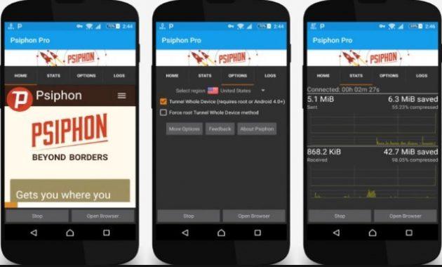 Salah satu aplikasi VPN untuk androind yang cukup mendapat perhatian semenjak perilisannya Download Psiphon Pro Apk All Unlock Versi Terbaru 2019