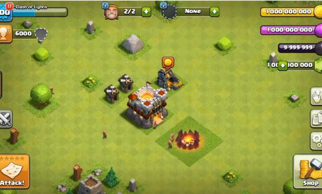 android yang pernah menjadi tren di banyak sekali dunia yakni Clash of Clans  Download Clash of Lights Apk Terbaru | COC Mod Private Servers TH 12