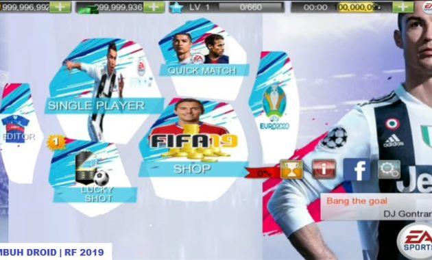 Selamat tiba pecinta game sepak bola android Download Real Football 2019 Mod Apk Terbaru for Android