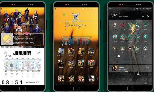 salah satu anime yang dapat sukses dalam kurun waktu yang sangat usang Download Theme Hp Xiaomi Anime One Piece V3 Mtz Terbaru for Android