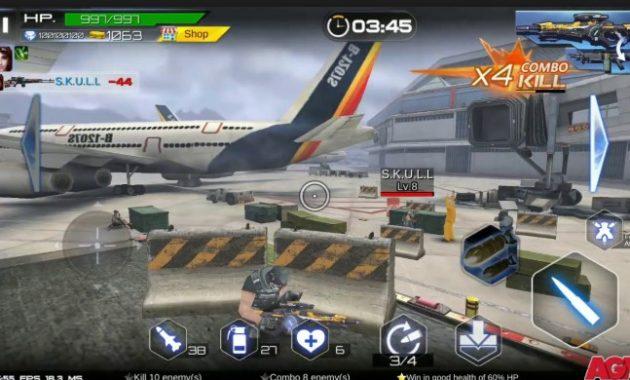 Pilihan sempurna nih alasannya ada rekomendasi game menembak yang manis dan seru berjulukan  Download Gun War: Shooting Games 2.8.1 Apk Mod Money for Android