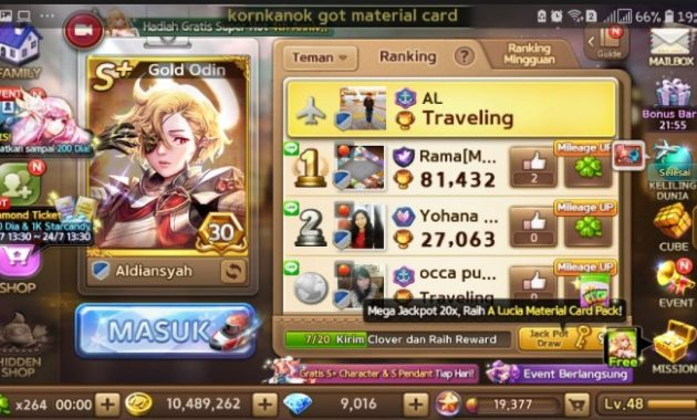 Pernah memainkan game LINE Lets Get Rich LINE Let's Get Rich v2.2.0 Mod Apk (Unlimited Money/Diamond/Clover and Gold)