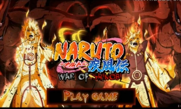 ingin mengucapkan terima kasih kepada kalian pembaca setia yang selalu mnejadikan situs ka Download Naruto Senki War of Shinobi  Apk by Exa Septiko