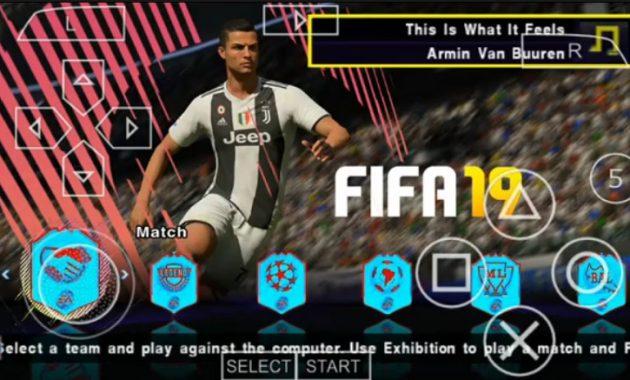 merupakan seri game video bertema sepak bola Download PES 2019 V7 ISO PSP  English Update Transfer January 2019