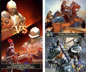 Ada yang tahu game berkelahi terbaru apa yang sedang tren belakangan ini Rival Knights Mod Apk+Data 1.2.3 (Unlimited All)