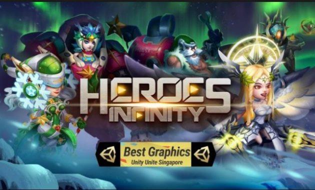 jumpa lagi bersama admin dengan kabar terbaru dari dunia game Download Heroes Infinity Mod Apk v1.22.3 (Unlimited Coins/Gems)