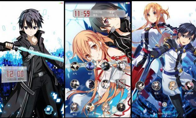 smartphone Xiaomi berhasil menempati jajaran  Download Theme Hp Xiaomi Anime Sword Art Online V.03