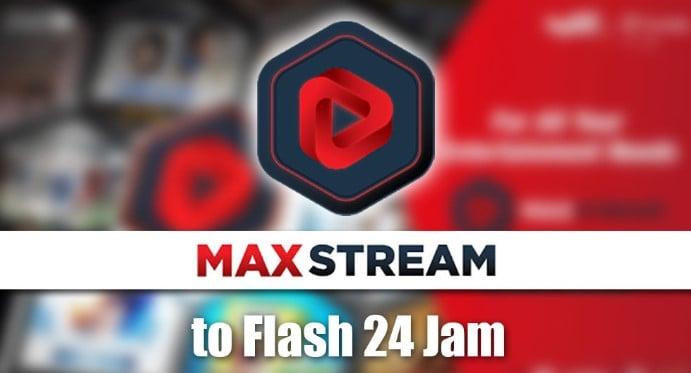 Salah satu paket kuota Telkomsel yang sedang popular ketika ini ialah MAXStream Cara Mengubah Kuota MAXstream Menjadi Flash 24 Jam Terbaru 2019