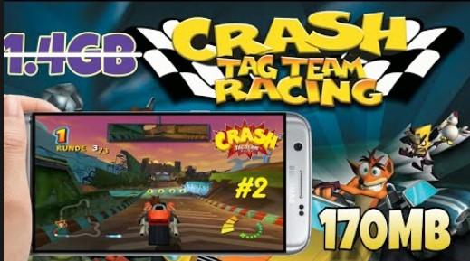 Ada banyak sekali jenis game balap menarik yang dapat dimainkan di android Download Crash Tag Team Racing (USA) PPSSPP ISO/CSO Highly Compressed