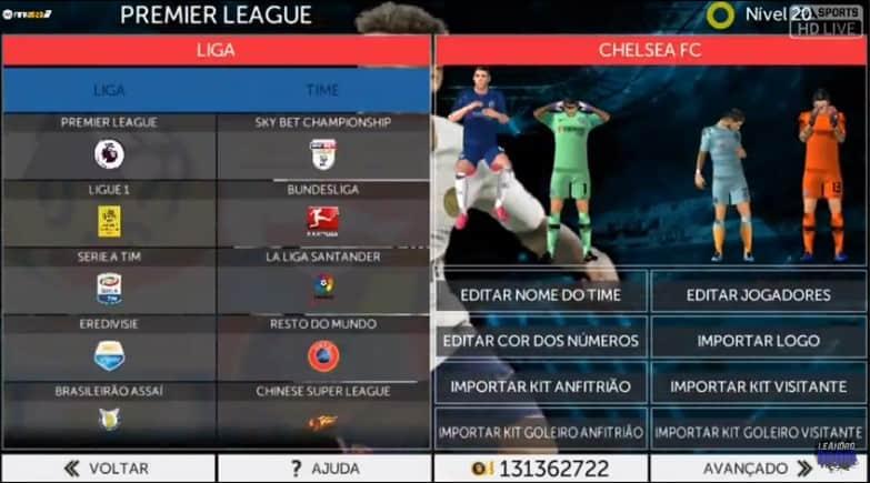Sebuah permainan offline seru tiba dari kategori First Touch Soccer  Download FTS Mod FIFA 2020 HD Graphics Ultimate Full Update Transfer