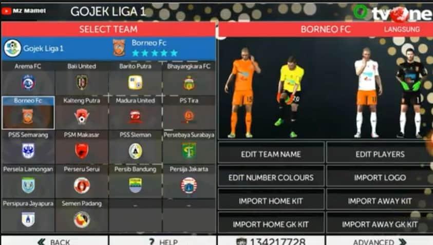 Masih belum bosan dengan game First Touch Soccer  Download FTS Mod PES 2020 Gojek Liga 1 Indonesi  Full Liga