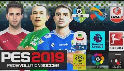 Salah satu hal yang menyenangkan dari menggemari game sepak bola ialah jangka waktu updat Download FTS Mod PES 2019 Liga Indonesia  Eropa Update Winter Transfer