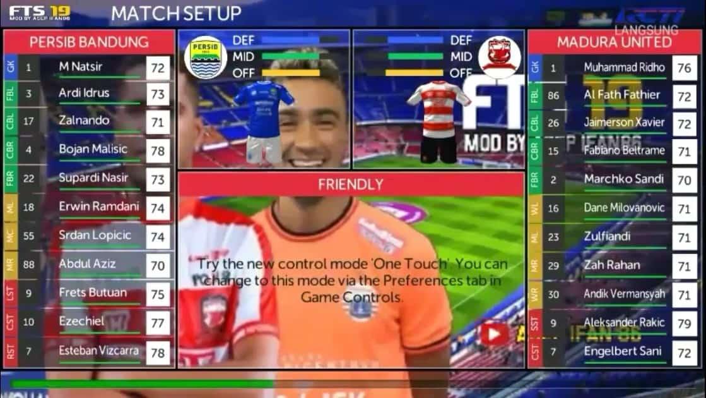 First Touch Game dikenal dengan keberhasilannya membuat game bertema sepak bola dan la Download FTS 19 FIX Update Transfer February Eropa  Indonesia League 2019