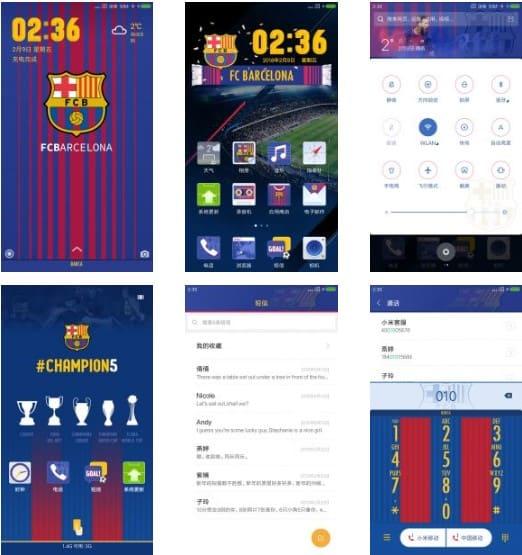 Tiap klub sepak bola niscaya punya ciri khas yang membedakan identitas antara satu sama lain Download Tema Club Sepakbola Barcelona V1 Untuk Xiaomi Terbaru Android