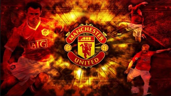 Fans Manchester United sedang berbahagia Download Tema Club Sepakbola Manchester United V1 Untuk Xiaomi Terbaru Android