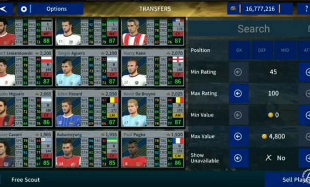 Ada banyak sekali macam versi permainan sepak bola yang dirilis untuk android Dream League Soccer Mod FIFA 19 Update Pemain Legends by ADAMITS10