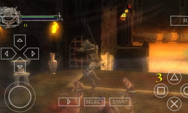 Pernahkah kau mendengar game berjudul Dante Download Dante's Inferno ISO/CSO PPSSPP Highly Compressed