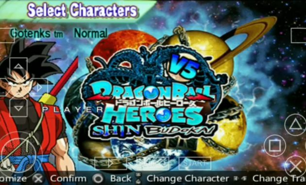 game yang sudah mengeluarkan puluhan series favorit ialah Dragon Ball Download Dragon Ball Heroes V5 ISO/CSO PPSSPP MOD Terbaru 2019