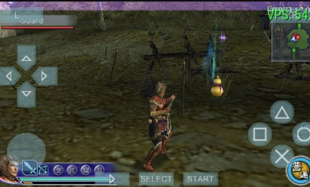 Game Dynasty Warriors sudah merilis banyak series Download Dynasty Warriors 6 PPSSPP ISO/CSO Highly Compressed