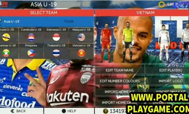 mod liga indonesia apk data obb full transfer yang sudah admin sediakan untuk game modif FTS 20 Mod Full Liga Asia  Shopee Liga 1/2/3 Timnas Indonesia 2019