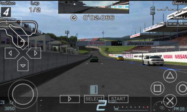 Sony merilis game balapan yang berjulukan Gran Turismo untuk platform game PS Gran Turismo (USA) ISO/CSO PPSSPPP Free Download