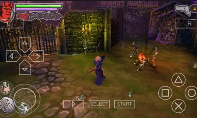 Guillermo del Toro menyutradarai sebuah film supranatural tahun  Hellboy: The Science Of Evil (USA) ISO/CSO PPSSPP Free Download