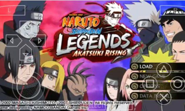 niscaya kau akan pribadi mengingat kartun animasi dari Jepang yang pernah ditayangkan di  Naruto Shippuden Legends Akatsuki Rising (USA) ISO/CSO PPSSPP Free Download